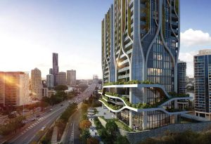 Twin Residential Towers, Café and Restaurants – Ferry Street & Prospect Street, Kangaroo Point