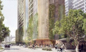 Approved – Residential Tower, with Waterfall and Laneway Retail – 75, 77 and 79 Hope Street & 9 Fish Lane, South Brisbane