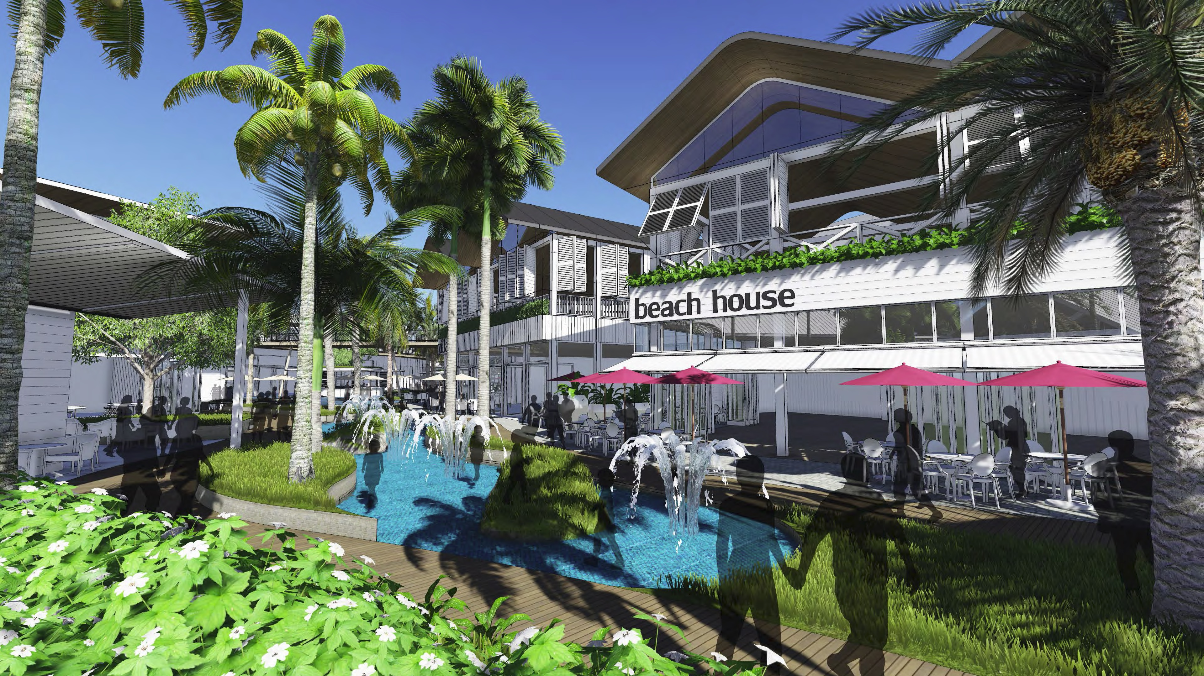 Opening Ceremony - Dining Precinct - Westfield Chermside Shopping Centre - Stage 6 Upgrades