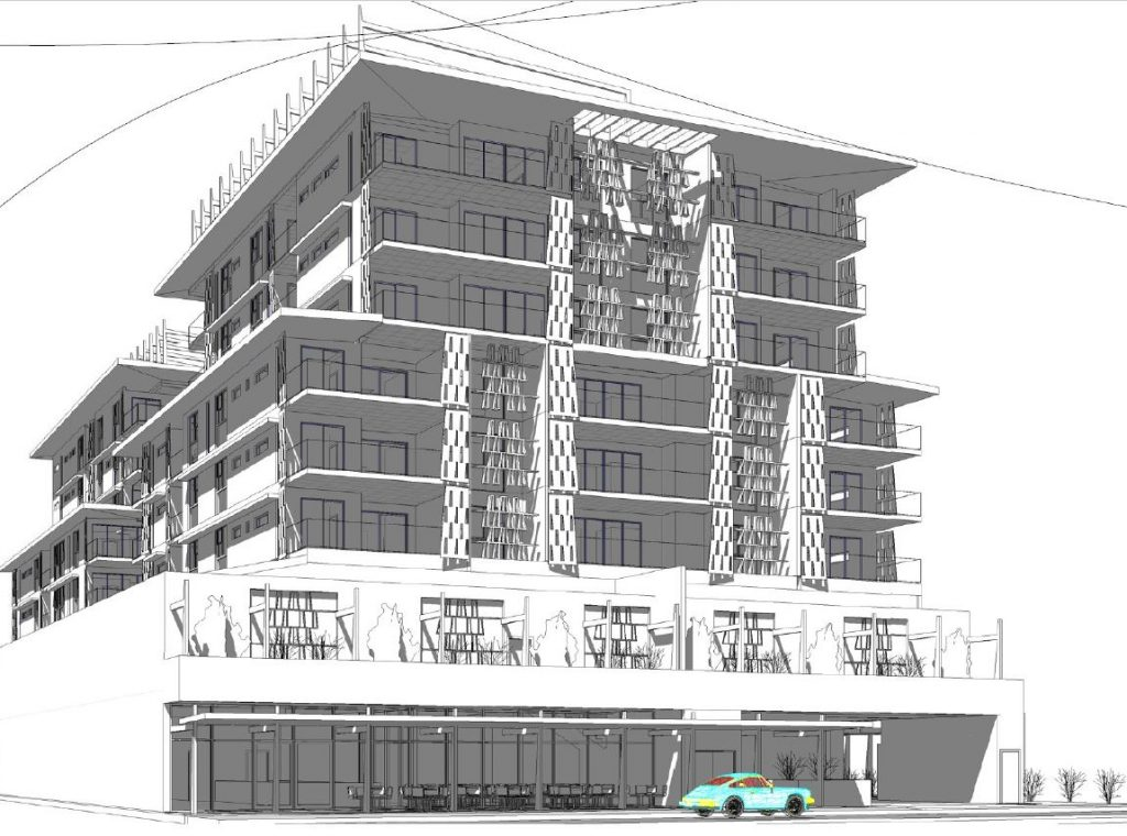 Two Residential Towers, with Retail, Café and Cinemas – Berrima Street & Bride Street, Wynnum