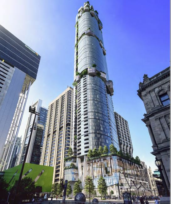 Approved – 'No.1 BRISBANE' Landmark Building – Queen Street Mall, Brisbane