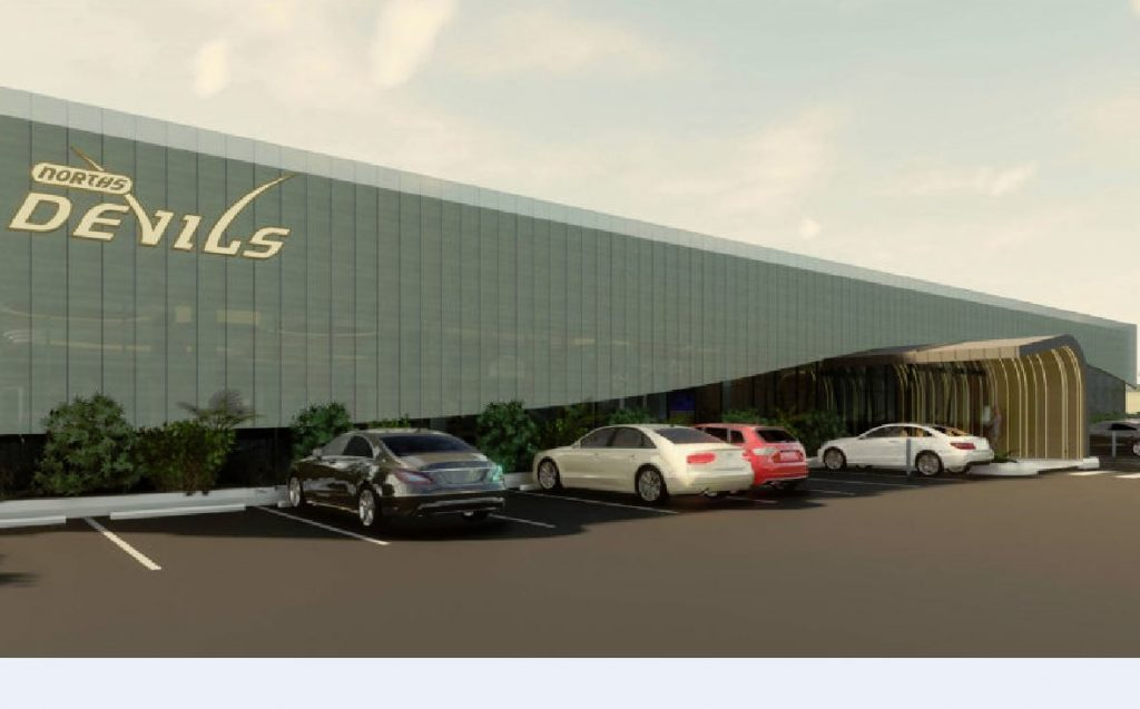 Approved Norths Devils Leagues Club Upgrade – Hedley Avenue & Nudgee Road, Nundah