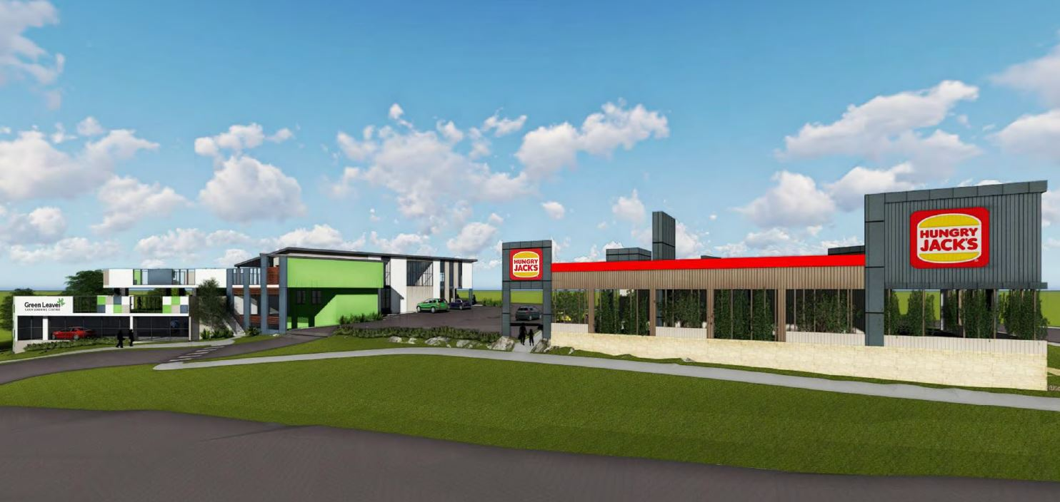 Fast Food Restaurant, Child Care Centre - Albany Creek Road and Keong Road, Albany Creek