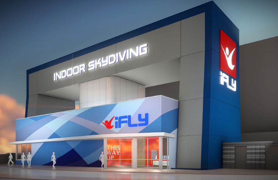 Brisbane's First - Indoor Skydiving Facility - Westfield Shopping Centre, Chermside