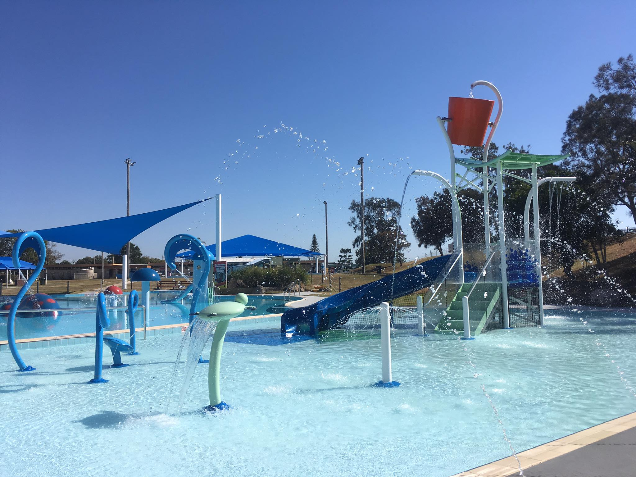 Open for School Holidays - $500k Aquatic Playground Upgrade - Sandgate Aquatic Centre