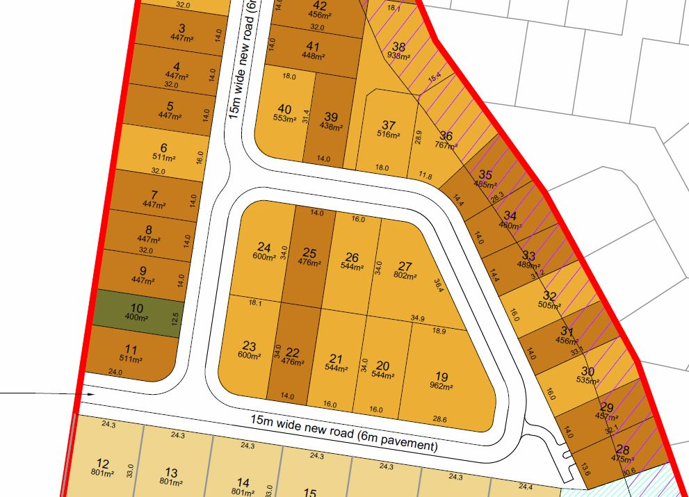 Subdivision – Wrightson Road & Kinross Road, Thornlands