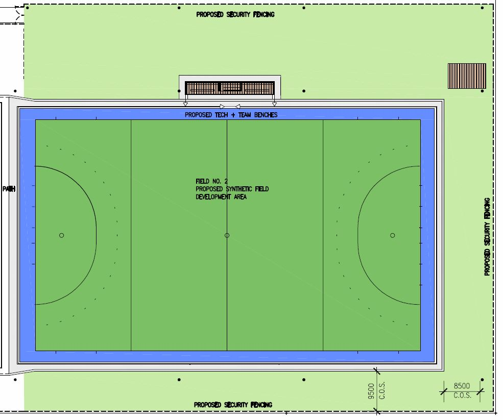Second Synthetic Hockey Pitch Kedron Wavell Hockey Club