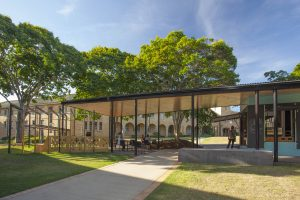 Coffee Cart & Shade Structure – Australian Catholic University, Banyo