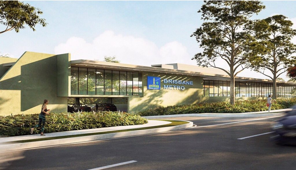 Brisbane Metro Rapid Transit Depot Announced – School Road, Rochedale