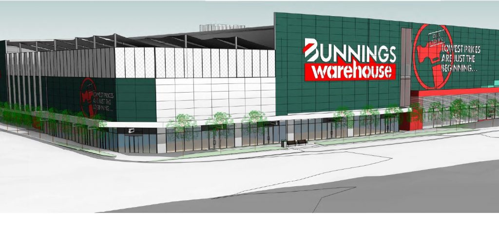 Bunnings Warehouse – 73 Ipswich Road, Woolloongabba