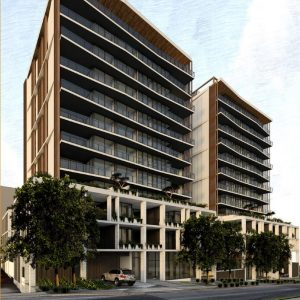 Two Residential Towers – 49-57 Sparkes Street, Chermside