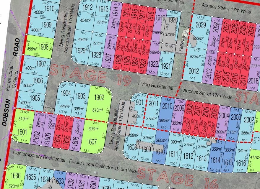 165 Lot Subdivision – Dobson Road, Morayfield and 82 Nairn Road, Morayfield