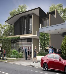 Commercial Building – Crawford Street & Ashgrove Avenue, Ashgrove