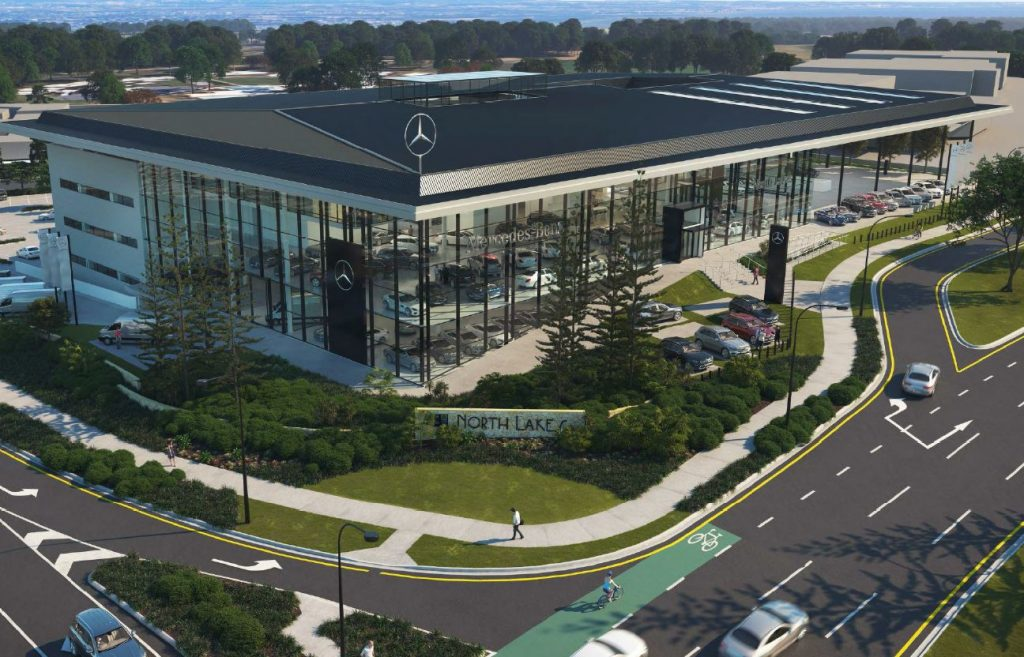 Mercedes benz dealership 2 10 discovery drive and anzac for Mercedes benz dealer ship