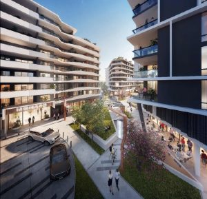 Approved – Urban Village Precinct – Woolworths Street, Everton Park