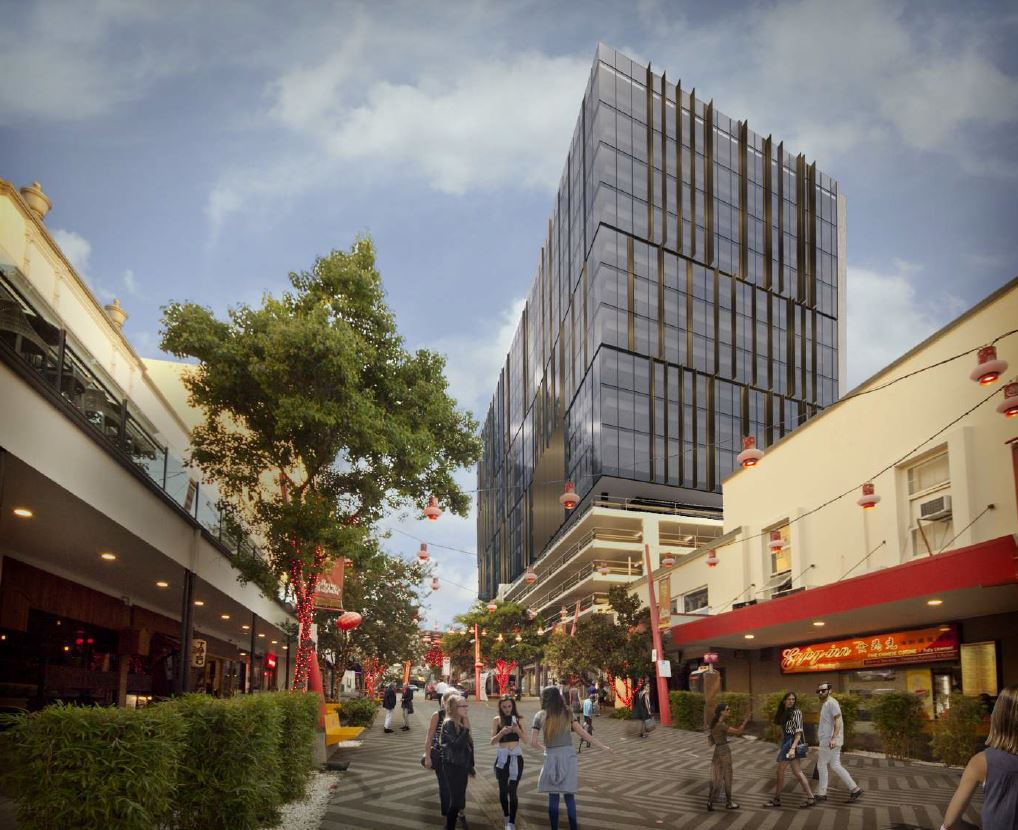 Commercial Tower – China Town, Fortitude Valley
