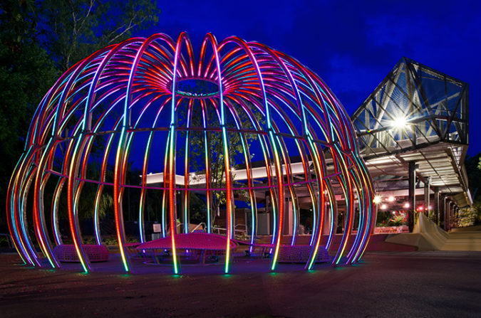 'Flowstate' Art Installation, Centre Stage & Public Space – Tribune Street, South Bank Parklands