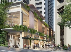 Commercial Office Building & Retail Laneway – George Street, Charlotte Street & Mary Street, Brisbane City