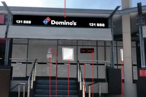 Domino's Pizza Shop – 620 Moggil Road, Chapel Hill