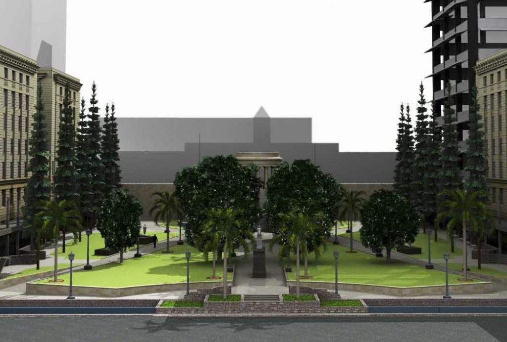 Construction commences on Restoration & Enhancement – Anzac Square, Brisbane City