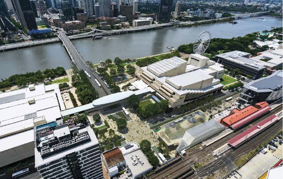 $91 Million Tunnel & Green Square – Brisbane Metro, South Brisbane