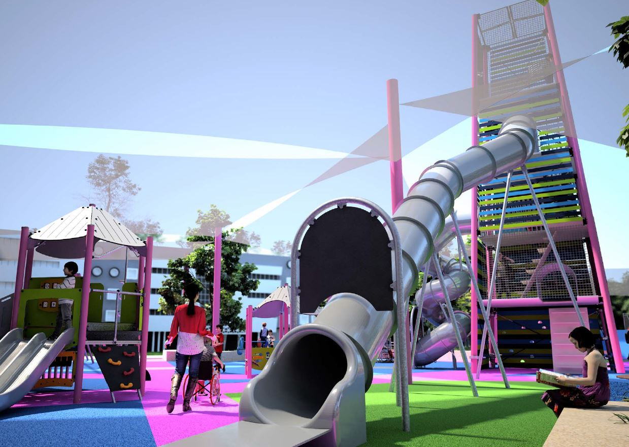 Playground Springfield Central Shopping Centre Ipswich