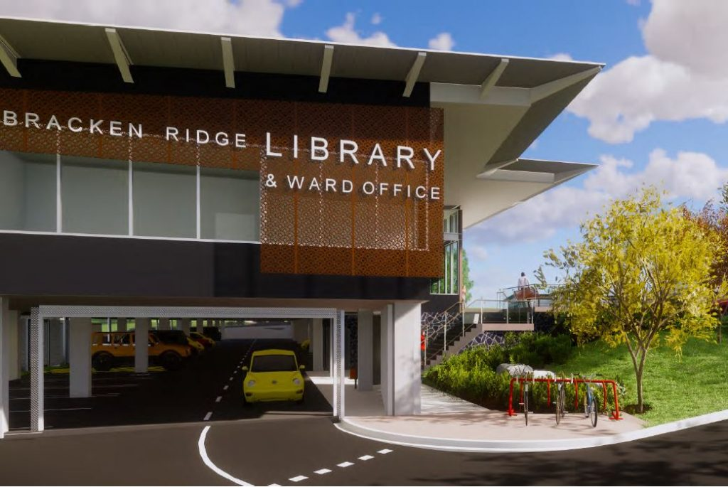 New Council Library and Ward Office – 77 Bracken Street, Bracken Ridge