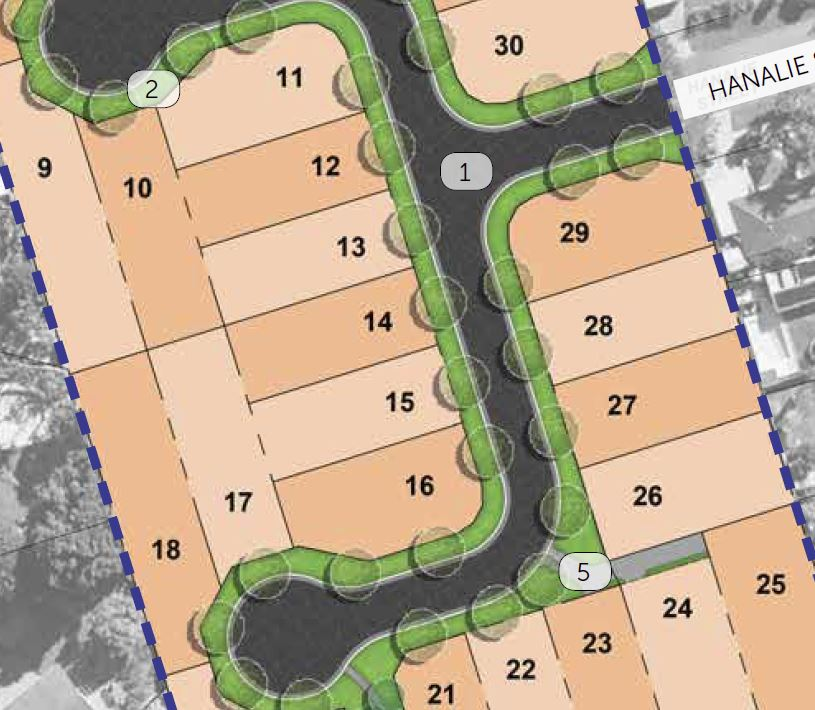 Approved Subdivision – Hanalie Street & Galley Way, Birkdale
