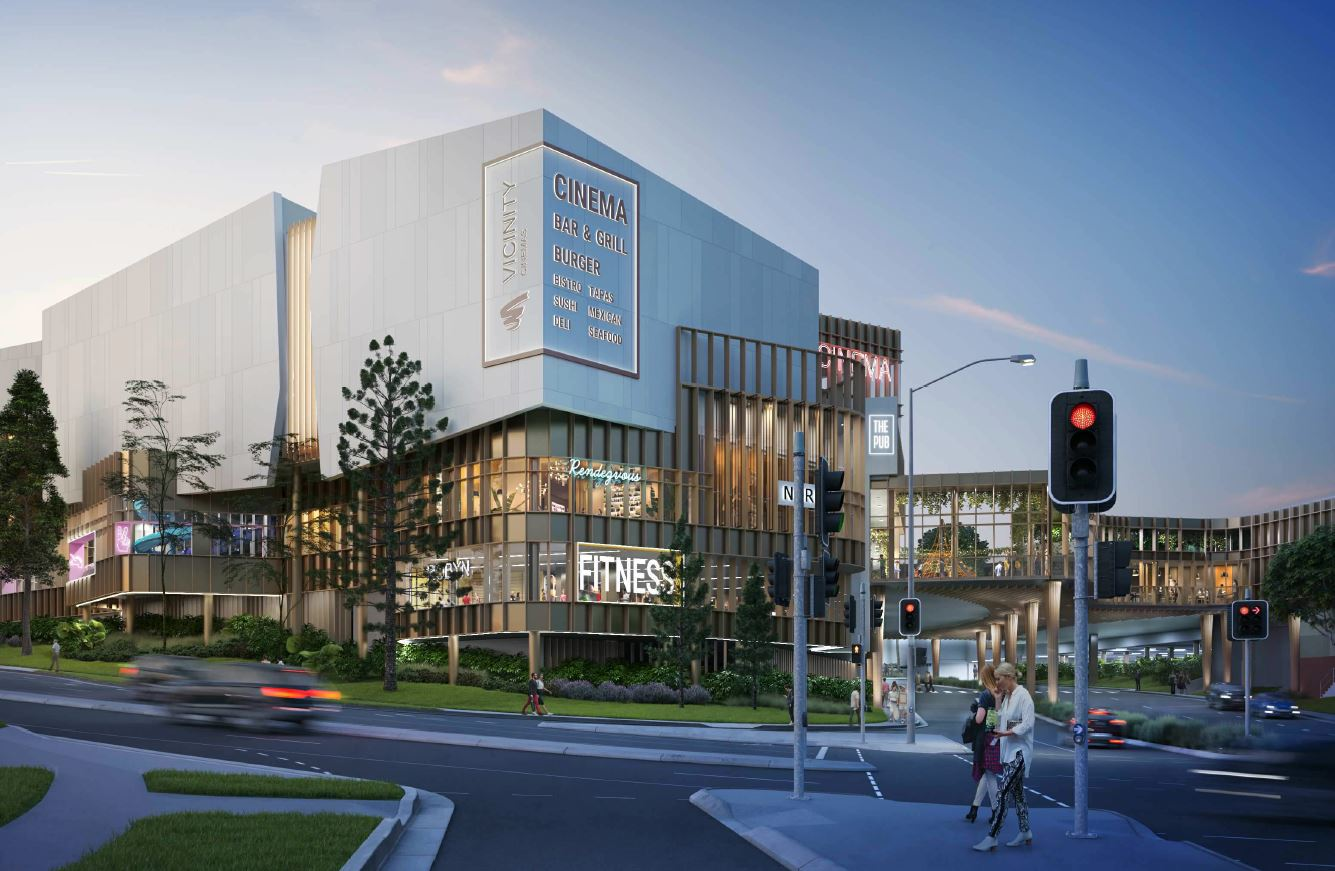 Approved - Cinema, Dining & Entertainment Precinct - Mt Ommaney Shopping Centre