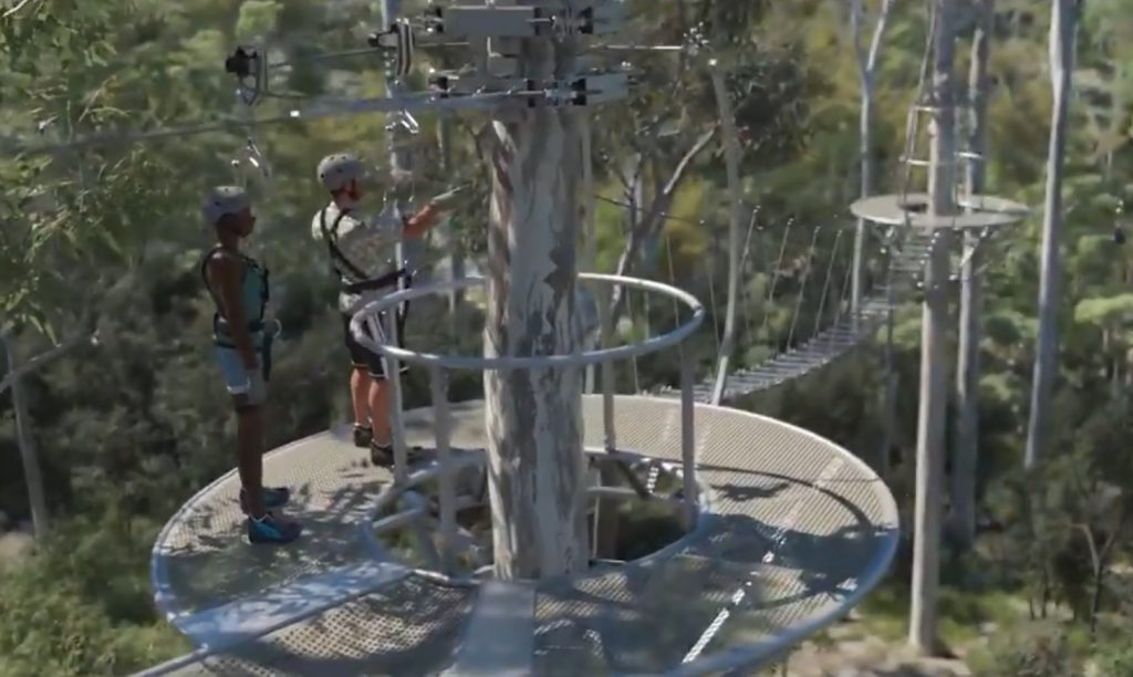 Ecotourism Zipline Design Announced – Mt Coot-tha, Brisbane