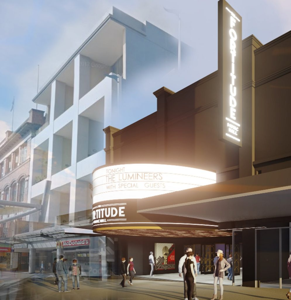 The Fortitude Music Hall – Brunswick Street Mall, Fortitude Valley