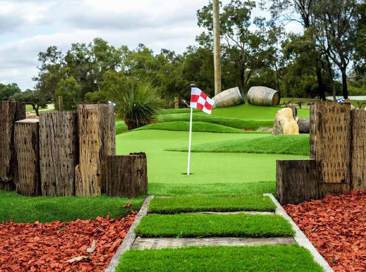 Mini Golf Course – St Lucia 'Golf Links', Carawa Street, St Lucia