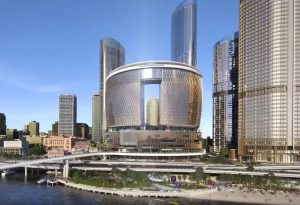 New Queen's Wharf Flythrough – Brisbane City