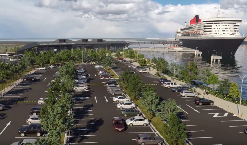 International Cruise Terminal Flythrough – Brisbane River