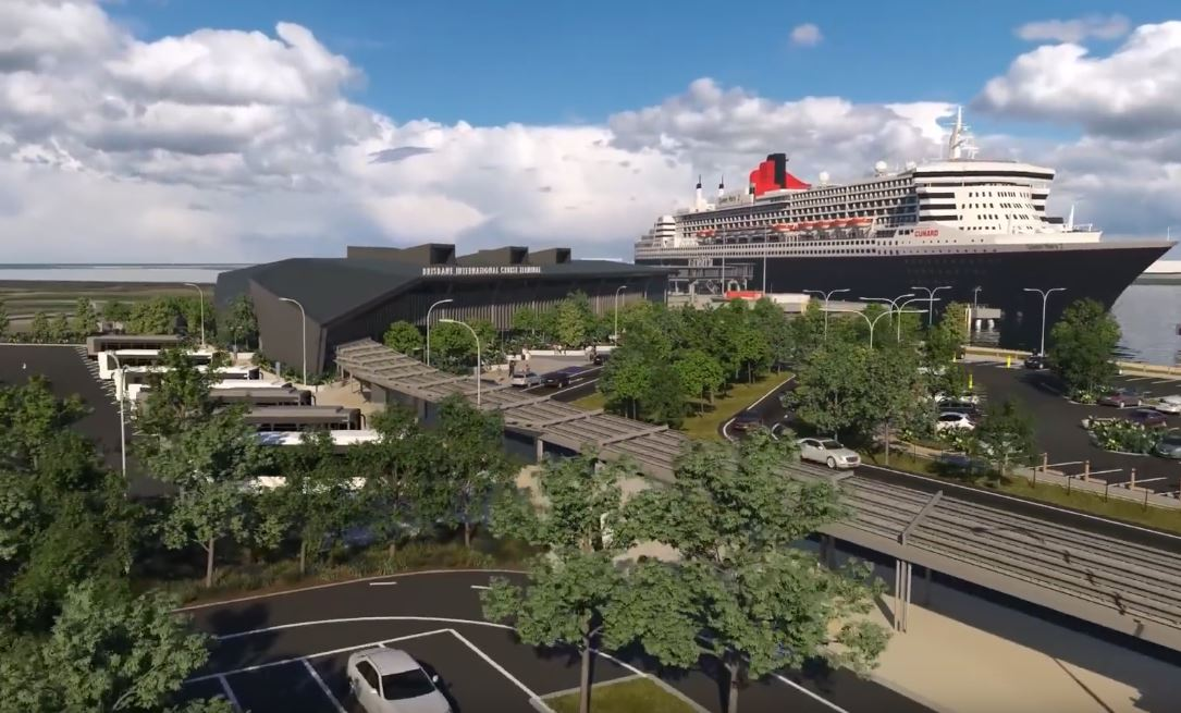 Construction Commences - $158 Million Brisbane International Cruise Terminal