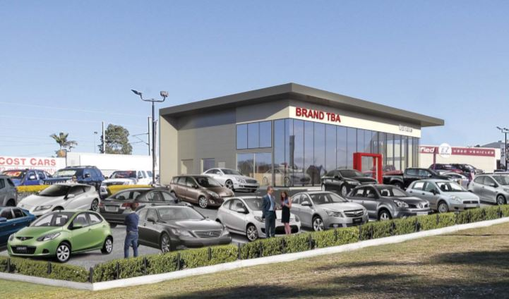 Nissan Vehicle Showroom – Tingal Road & Green Street, Wynnum