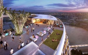 New Zipline Announced – Queen's Wharf, Brisbane City