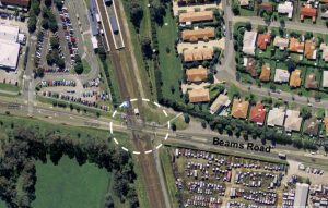 $400K Rail Level Crossing Study – Beams Road, Carseldine