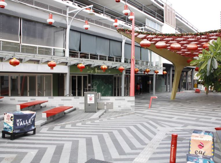 Retail & Office – China Town Mall, Fortitude Valley