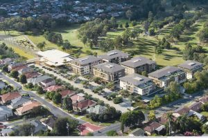 Golf Clubhouse & Retirement Village – Pacific Golf Club, Carindale