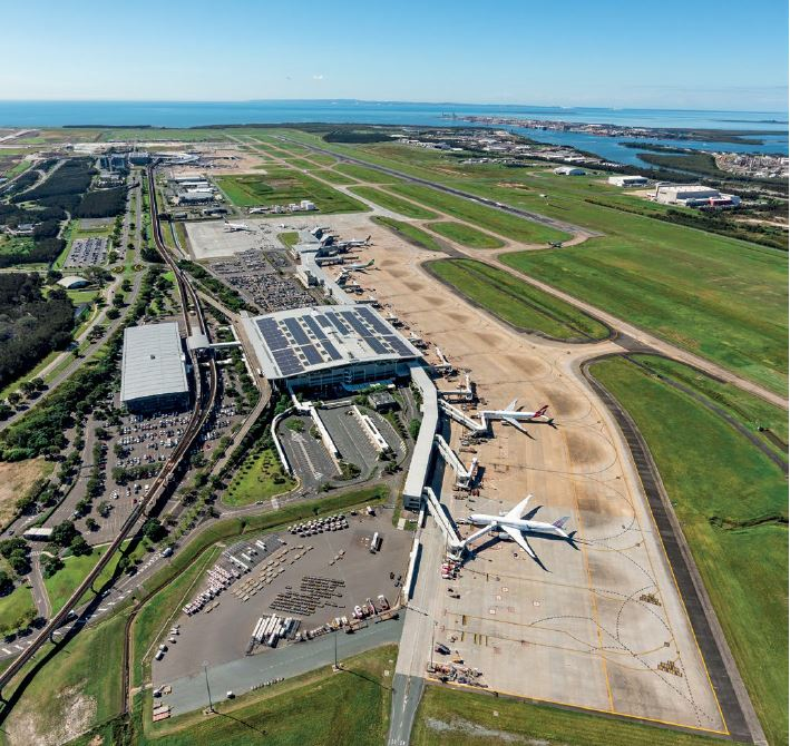 Skygate Airtrain Station, Terminal Expansion & Transit Loop – Brisbane Airport Draft Master Plan 2020