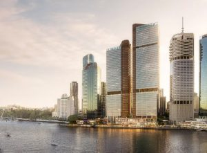 Office Towers, Retail & Dining Precinct – Eagle Street Pier, Brisbane CBD