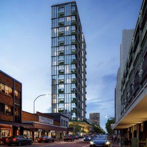 Residential & Hotel Tower, Retail and Bars – Brunswick Street, Fortitude Valley