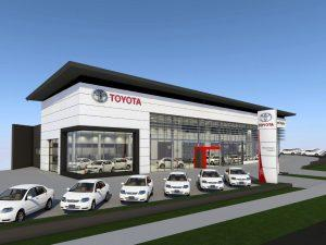 Toyota Showroom & Service Centre Redevelopment – Wynnum Road, Morningside