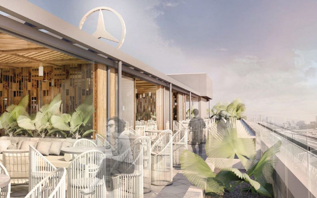 Rooftop Bar & Restaurant – Mercedes-Benz, Newstead