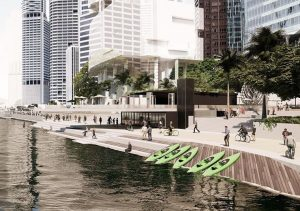 Master Plan Announced – City Reach Waterfront , Brisbane City