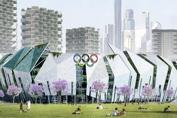 New Stadium, Aquatic Centre & Athletes Village – for 2032 Olympic Games