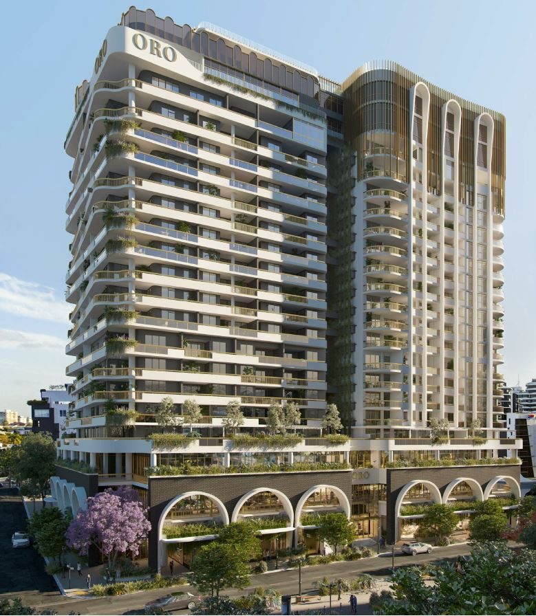 ORO Residential Tower & Retail – Longland Street, Newstead