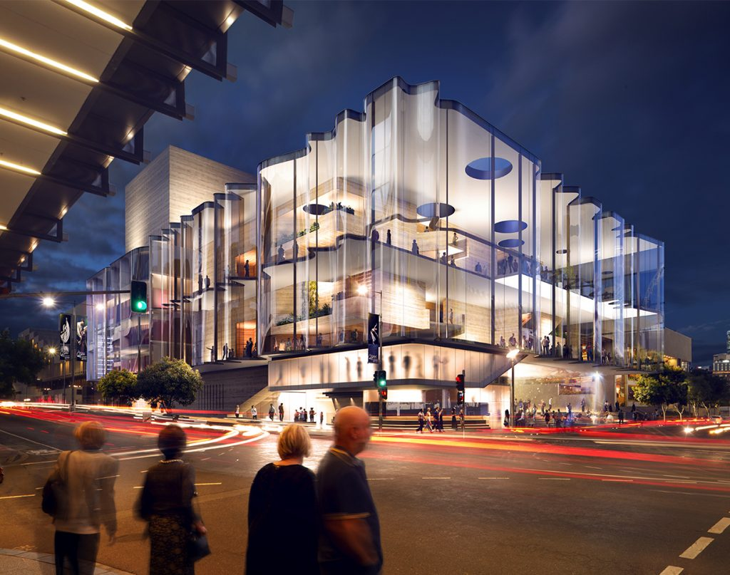 $150 Million Theatre Unveiled – QPAC, South Brisbane