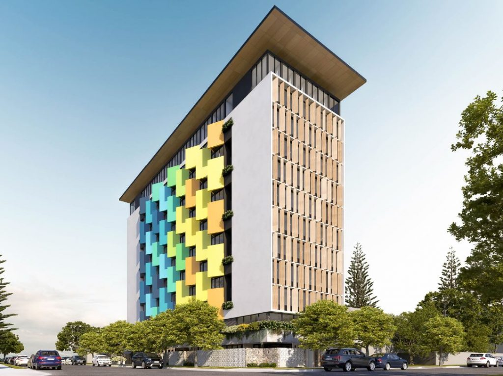 Student Accommodation Tower – Golden Four Drive, Bilinga, Gold Coast